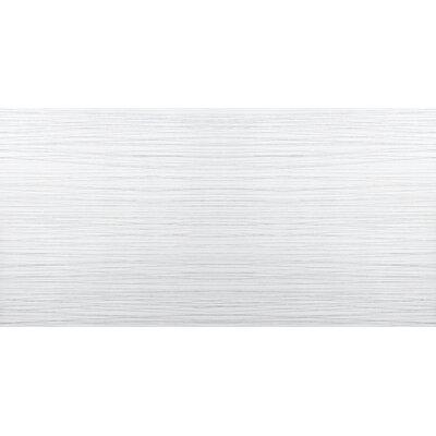 Thread 12 x 24 Porcelain Field Tile in White