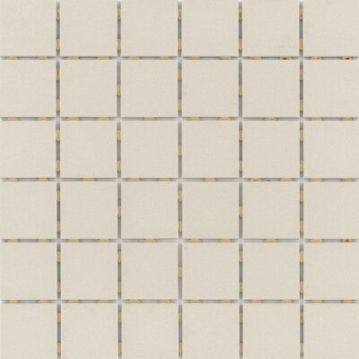 Zone 2 x 2 Porcelain Mosaic Tile in Matte Fawn