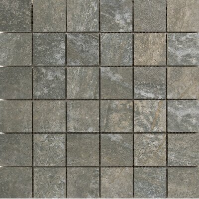 Trovata 2 x 2 Porcelain Mosaic Tile in Scroll