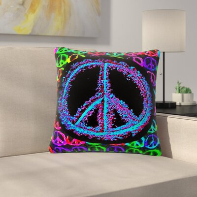 Anne LaBrie Heavenly Peace Digital Outdoor Throw Pillow Size: 18 H x 18 W x 5 D