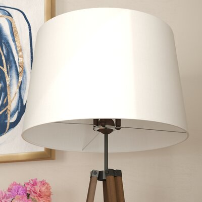 Blumberg Asymmetrical 20 Linen Drum Lamp Shade