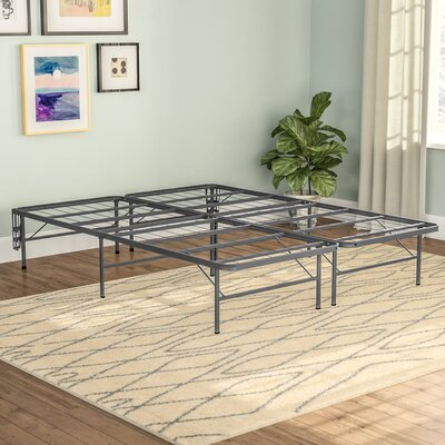 Innovative Bed Frame Mattress Foundation Size: Queen