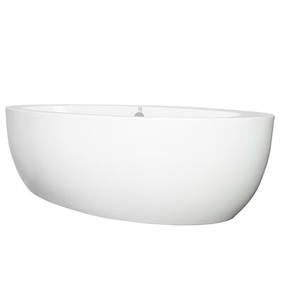 73 x 36 Freestanding Soaking Bathtub