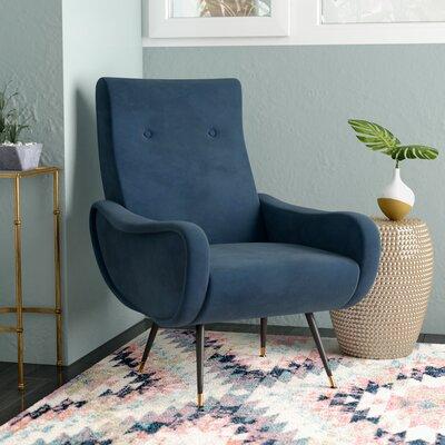 Naya Armchair Upholstery: Navy