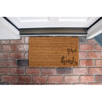Church Coir Doormat