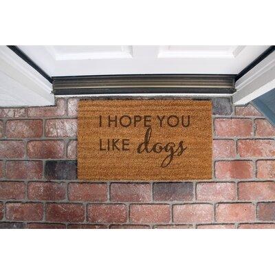 Wittrock Coir Doormat
