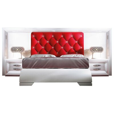Konieczny Special Headboard Panel 4 Piece Bedroom Set Size: Queen