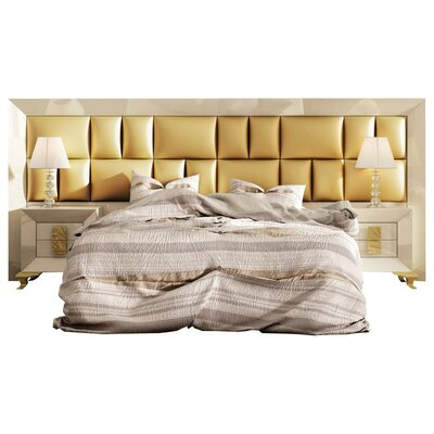 Komar Special Headboard Panel 4 Piece Bedroom Set Size: King