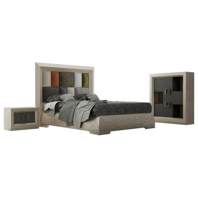 Pettengill 5 Piece Bedroom Set Size: Queen