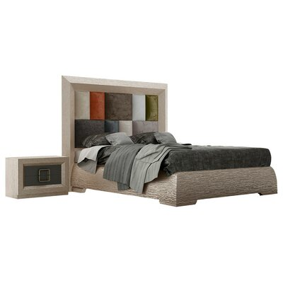 Pettaway Panel 4 Piece Bedroom Set Size: Queen