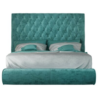 Kohan Panel Bed Size: King