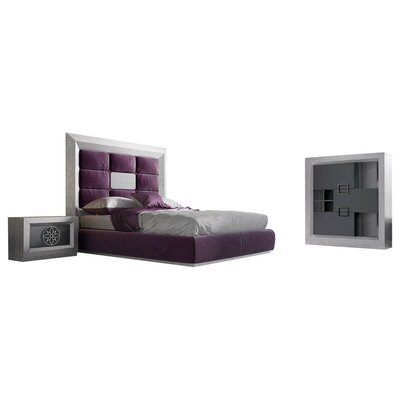 Kogut Panel 5 Piece Bedroom Set Size: King