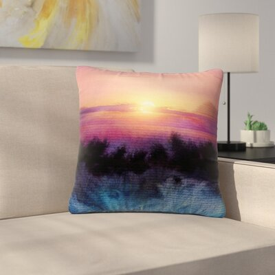 Viviana Gonzalez Calling the Sun IV Outdoor Throw Pillow Size: 16 H x 16 W x 5 D