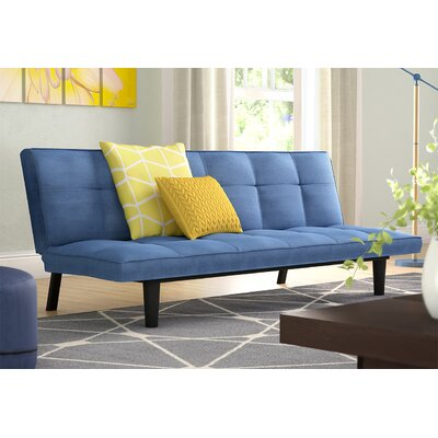 Chantal Convertible Sofa Upholstery: Royal Blue