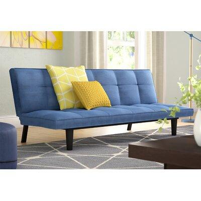 Chantal Convertible Sofa Upholstery: Royal Blue