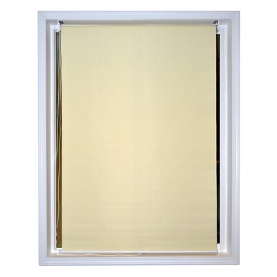 Kaylor Windscreen Sunshade Blinds Room Darkening Outdoor Roller Shade Blind Color: Ivory