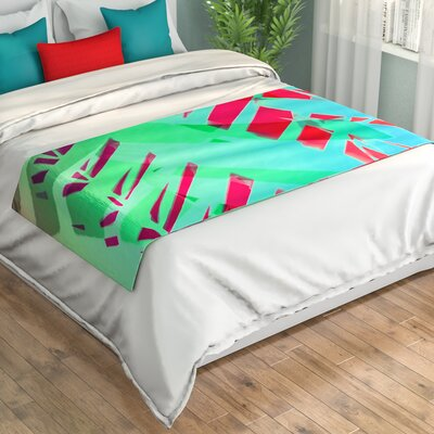 Alison Coxon Cool Tropical Bed Runner