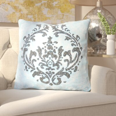 Rosana Light Bead-work 100% Cotton Throw Pillow