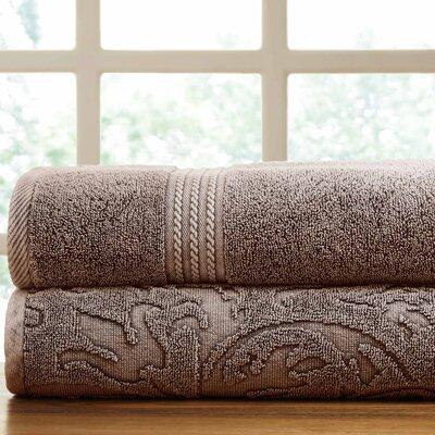 2 Piece Towel Set Color: Mocha