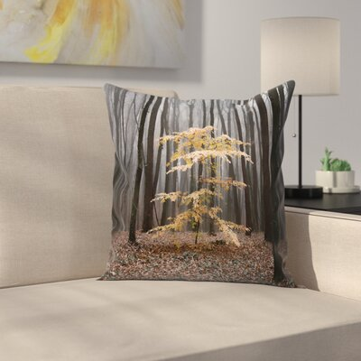 Maja Hrnjak Tree Throw Pillow Size: 20 x 20