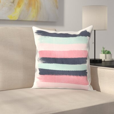 Charlotte Winter Cecily Throw Pillow Size: 16 x 16