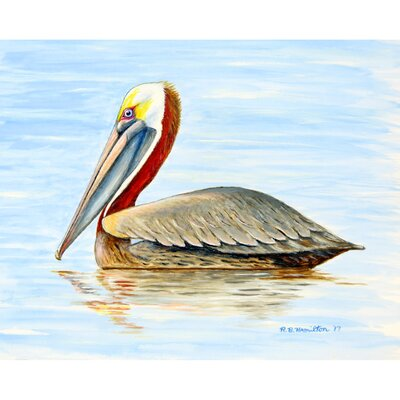 Henault Pelican Doormat Mat Size: Rectangle 2.5 x 4.1