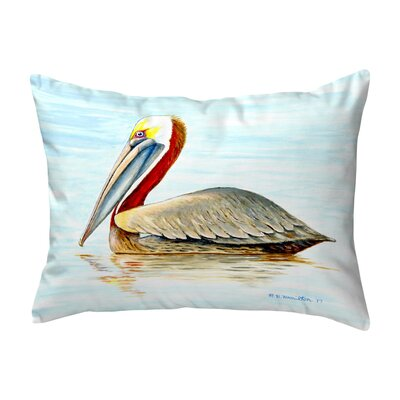 Henegar Pelican Indoor/Outdoor Lumbar Pillow