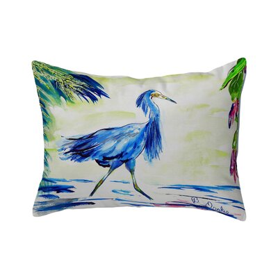 Isola Blue Egret Indoor/Outdoor Lumbar Pillow