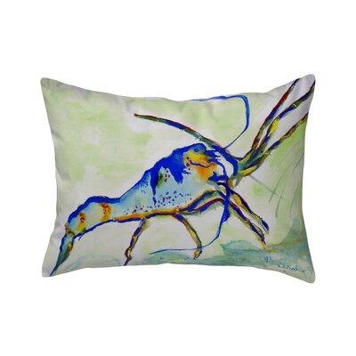 Henegar Lobster Indoor/Outdoor Lumbar Pillow