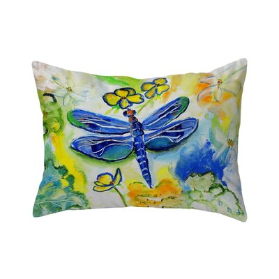 Isola Dragonflys Garden Indoor/Outdoor Lumbar Pillow