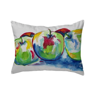 Isola Three Apples Indoor/Outdoor Lumbar Pillow