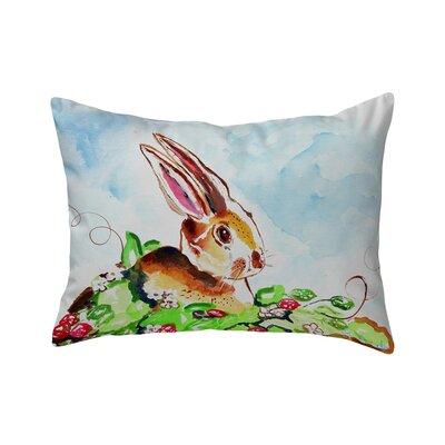 Ferro Rabbit Right Indoor/Outdoor Lumbar Pillow
