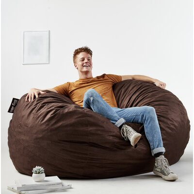 Big Joe Fuf Bean Bag Chair Upholstery: Cocoa