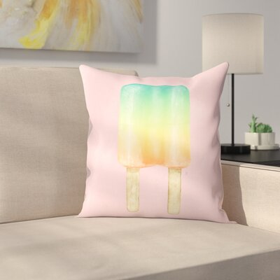 Duo Throw Pillow Size: 14 x 14