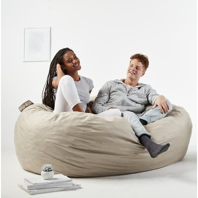 Big Joe Fuf Bean Bag Chair Upholstery: Oat