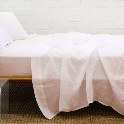 Chaffins Linen 3 Piece Sheet Set Size: California King