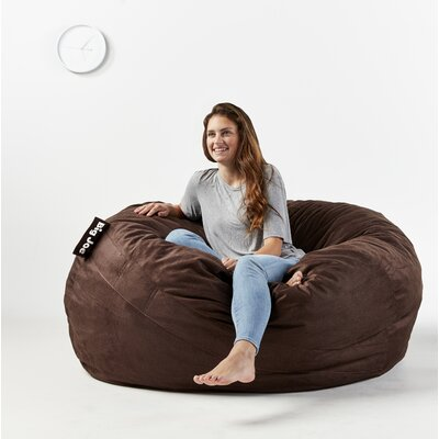 Big Joe Fuf Bean Bag Chair Upholstery: Cocoa