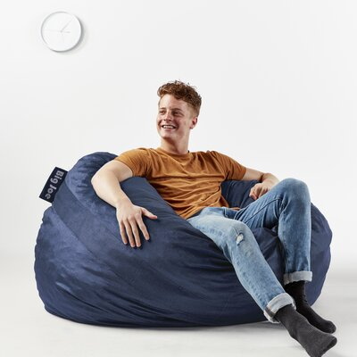 Fuf Bean Bag Chair Upholstery: Cobalt