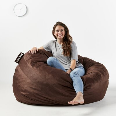 Fuf Bean Bag Chair Upholstery: Cocoa