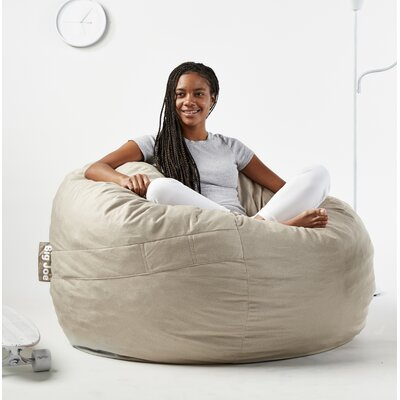Fuf Bean Bag Chair Upholstery: Oat