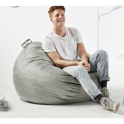Big Joe Medium Upholstery: Fog