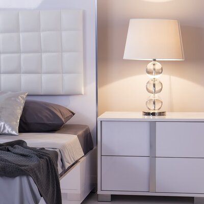 Belfield 2 Drawer Nightstand Color: White, Door Configuration: Left