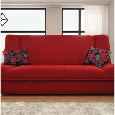 Vivanco Sofa Bed Finish: Red