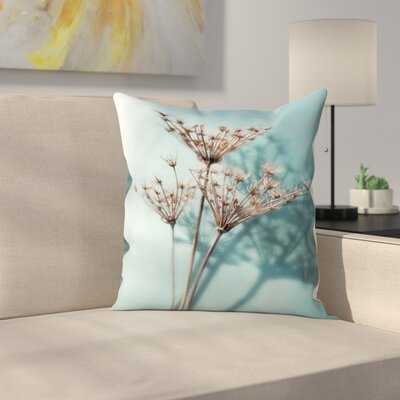 Maja Hrnjak Turquoise1 Throw Pillow Size: 14 x 14