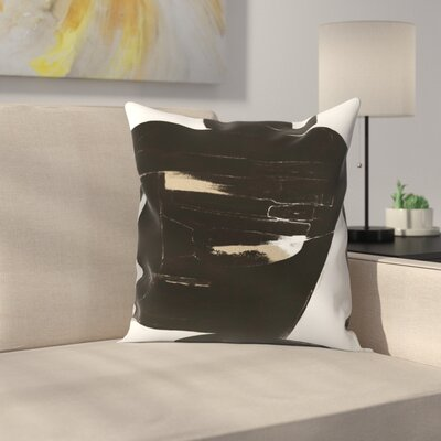 Kasi Minami Abstract 2 Throw Pillow Size: 18 x 18