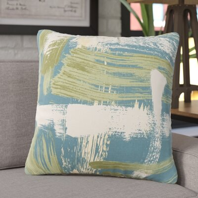 Finola Throw Pillow Color: Turquoise