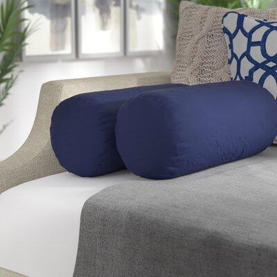 Gordon Bolster Pillow Color: Twill Navy