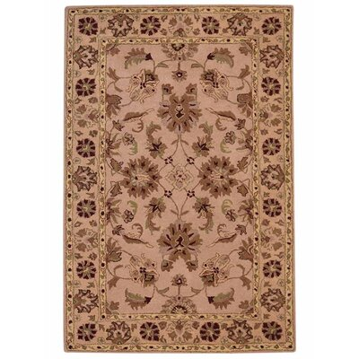 Meadow Hand-Woven Cream/Red Area Rug