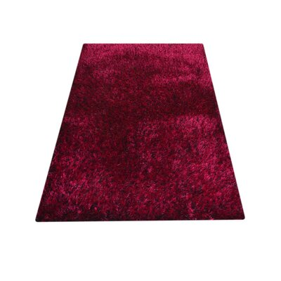 Sanford Solid Hand-Woven Violet Area Rug Rug Size: Rectangle�9 x 12