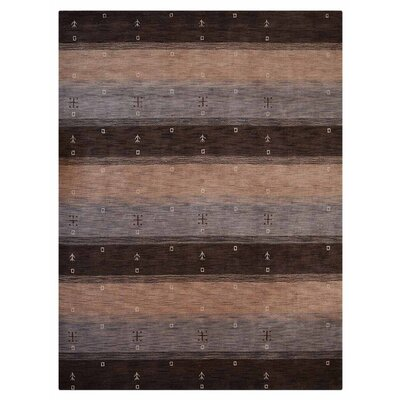 Manns Hand-Woven Wool Beige/Brown Area Rug Rug Size: Rectangle�57 x 710